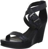 Diesel Domey Women US 7.5 Wedge Sandal
