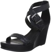 Diesel Domey Women US 7 Wedge Sandal