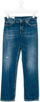 Dondup Kids wide leg jeans