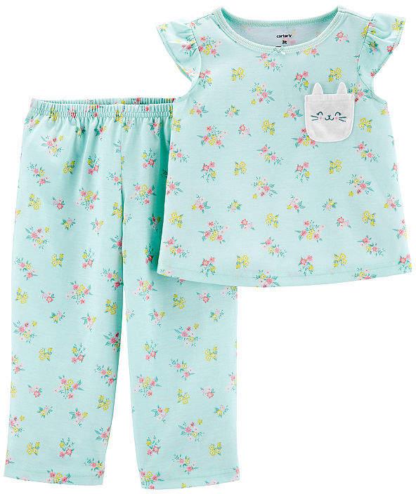 Carter's 2-pc. Pajama Set Toddler Girls