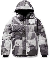 Canada Goose Macmillan Printed Quilted Shell Hooded Down Parka