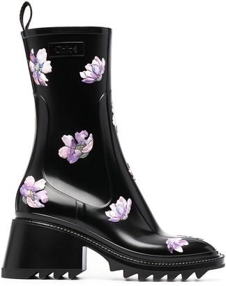 Chloé Betty rain boots