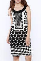 Tribal Geometric Print Dress