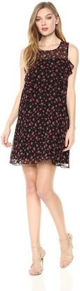 BCBGeneration Women's Floral Ruffle Dress