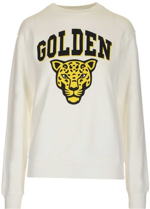 Golden Goose Logo Jaguar Print Sweatshirt