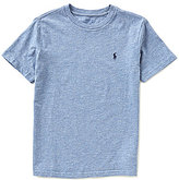 Ralph Lauren Little Boys 2T-7 Solid Heathered Short-Sleeve Tee