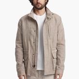 James Perse Cotton Linen Utility Jacket
