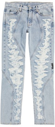 Off-White Contoured Slim Jeans