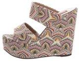 Missoni Slide Wedge Sandals