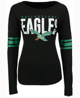 '47 Women's Philadelphia Eagles Courtside Long-Sleeve T-Shirt