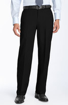 Ballin Men's Stain Resistant Flat Front Trousers