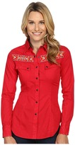 Rock and Roll Cowgirl Long Sleeve Snap B4S8364
