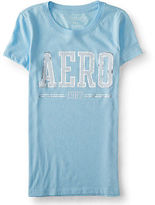 Aeropostale Womens Aero 1987 Graphic T Shirt