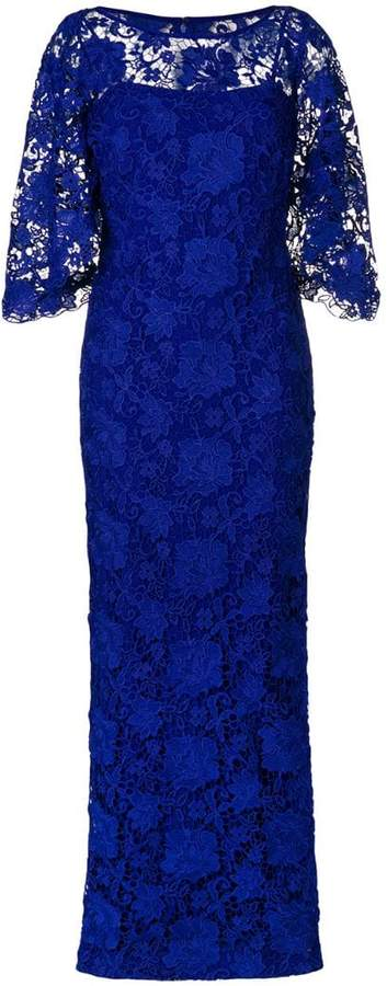 Lauren Ralph Lauren long lace gown
