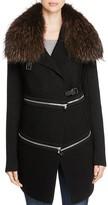 Barbara Bui Fur Collar Zip Jacket