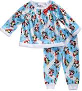 Youngland Blue & White Penguin Pajama Set - Infant & Toddler