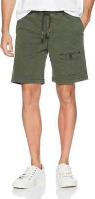 Michael Bastian Men's Signature Garment Dyed Pull on Pocket Short
