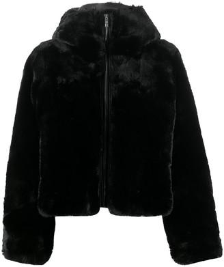 Fusalp Mongie faux-fur hooded jacket