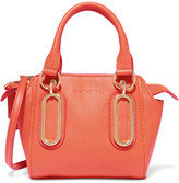 See by Chloe Paige Mini Textured-leather Shoulder Bag - Papaya