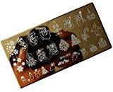 Vovotrade Christmas DIY Nail Art Image Stamp Stamping Plates Manicure Template (C)