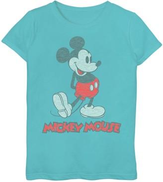 Disney Disney's Mickey Mouse Girls 7-16 Vintage Mickey Graphic Tee