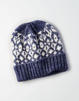 American Eagle Outfitters AE Patterned Beanie