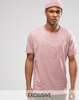 Puma Oversized T-Shirt In Pink Exclusive To ASOS