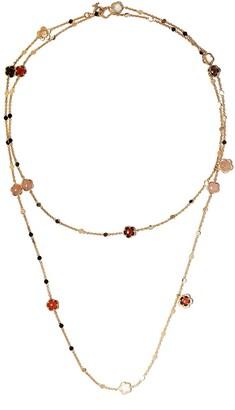 Pasquale Bruni 18kt rose gold diamond Figlia Dei Fiori necklace