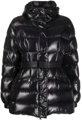 Moncler Belted Padded Jacket