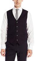 Perry Ellis Men's Washable Textured Suit Vest