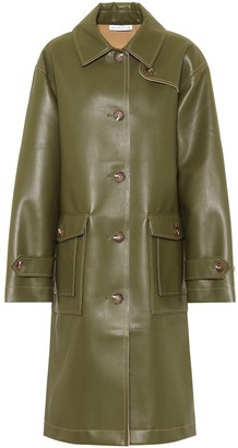 REJINA PYO Joanna faux-leather coat