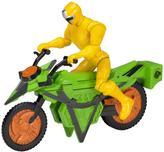 Very Power Rangers Ninja Steel Mega Morph Cycle with Yellow Ranger