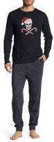 Lucky Brand Long Sleeve Thermal Crew and Jogger Pant Gift Set