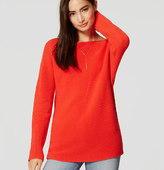 LOFT Ribbed Dolman Sweater
