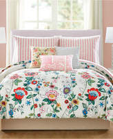 Vera Bradley Coral Floral 3-Pc. King Comforter Set Bedding
