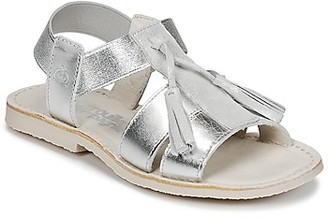 Citrouille et Compagnie INAPLATA girls's Sandals in Silver