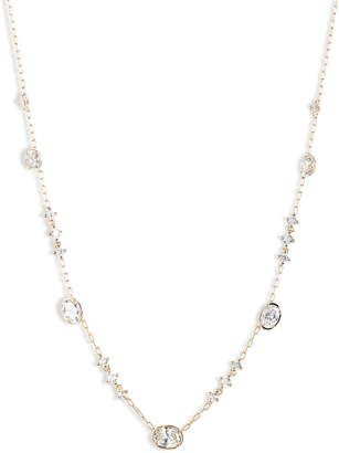 Nadri Issa Cubic Zirconia Station Necklace