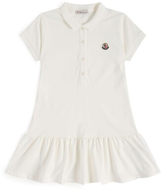 Moncler Kids Cotton Polo Dress (12-14 Years)