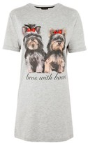 Topshop 'Bros With Bows' Night T-Shirt