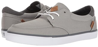 Reef Deckhand 3 (Grey/White) Men's Lace up casual Shoes