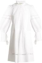 Sea Alouette macramé-lace cotton dress
