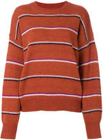 Etoile Isabel Marant striped knit jumper