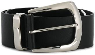 B-Low the Belt Metallic Buckle Belt