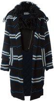 Preen by Thornton Bregazzi 'Lindner' fur collar coat