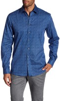 Lindbergh Printed Regular Fit Long Sleeve Shirt
