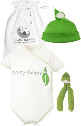 Under the Nile 3-Piece Teeny Beany Organic Egyptian Cotton Gift Set