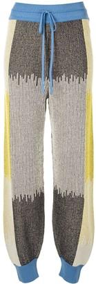 M Missoni Colour-Block Knitted Leggings