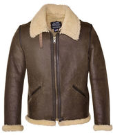 Schott NYC Vintage Sheepskin B-6 Jacket