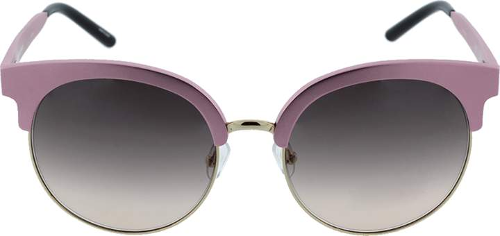 Matthew Williamson Gold Trim Round Sunglasses