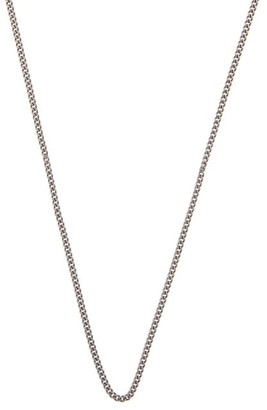 Miansai Curb-chain Sterling-silver Necklace - Silver